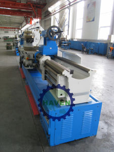 Manual lathe machine /Industrial metal lathe pictures & photos