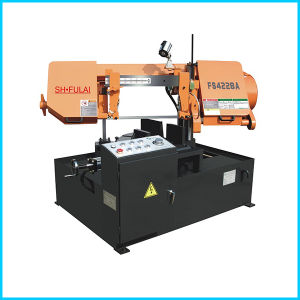Fs4228A Double Point of Type Semi-Automatic Steel Angle Cutting Machine