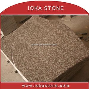 Red Chinese Granite Monument / Tombstone (HS-322)