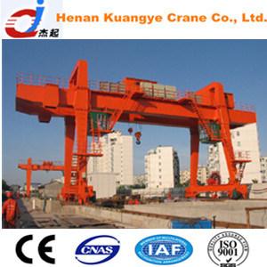 Single/Double Girder/Beam Gantry Crane with Hook/Grab