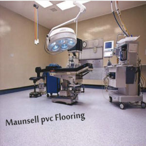 Maunsell Top Quality Roll PVC Indoor Floor for Hospital pictures & photos