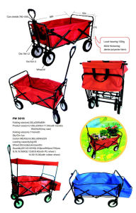 Manufacturers Sell Outdoor Ice Bag Portable Cart Can Rest Folding Multi-Function Shopping Cart to Buy Food pictures & photos