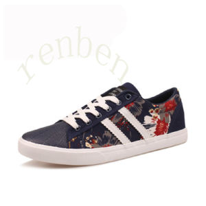 New Arriving Hot Casual Men′s Canvas Shoes pictures & photos