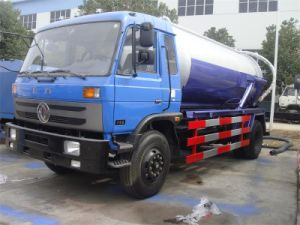 Dongfeng 190HP 10m3 Vacuum Suction Truck pictures & photos