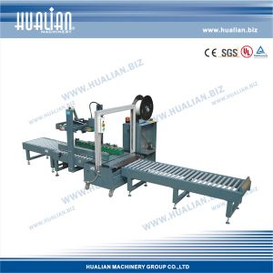 Hualian 2017 Automatic Strapping Line (XFK-1D) pictures & photos