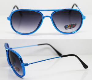 Plastic Injection Kids Frame Sunglasses with UV400, CE, FDA (XZ042) pictures & photos