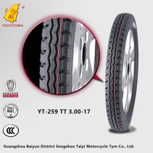 China Motorcycle Parts Market Low Price Motorcycle Tyre Yt-259 Tt3.00-17