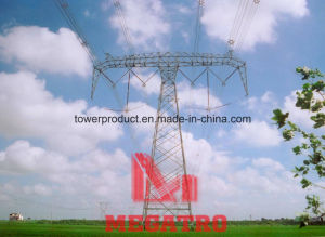 500kv Tangent Double Circuit Compact Transmission Tower with Six Split Conductor pictures & photos