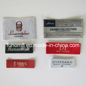 Custom High Quality Woven Label for Garment pictures & photos
