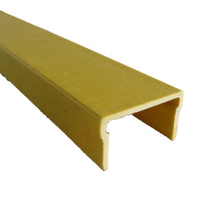 Fiberglass Reinfored Plastic Profile- Yellow FRP Channel pictures & photos