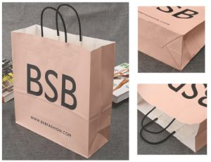 Hight Quality Paper Shoe Shopping Bag pictures & photos