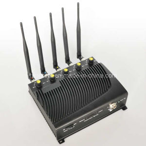 Five Bands Adjustable Output Power Signal Jammer pictures & photos