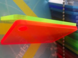 Fluorescent Colors Cast Acrylic PMMA Sheets pictures & photos