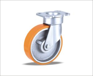 Swivel Castors With PU Wheel pictures & photos