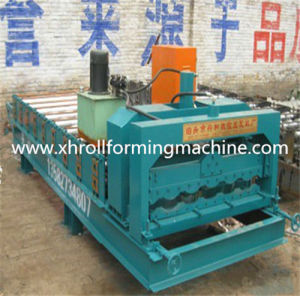Villa Roof Steel Sheet Roll Forming Machine pictures & photos