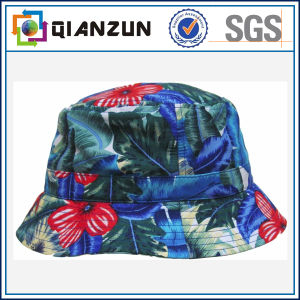 Custom Made Colorful Floral Print Bucket Hat for Sale pictures & photos