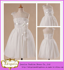 China One Shoulder Strapless Sleeveless Flower Girl Dress Patterns ...