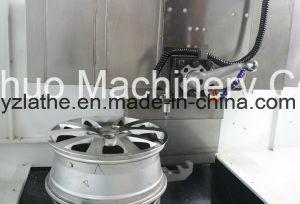 Alloy Rim Repair Wheel Vertical CNC Lathe pictures & photos