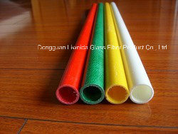 Nonstaining Fiberglass FRP GRP Pole/Tube/Pipe with High Quality pictures & photos