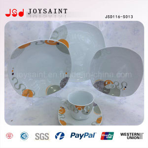 Hot Sale Squared Dinnerware Jsd116-S013