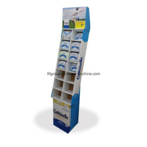 Baby Shop Retail Paper Pallet Display for Diaper, Pamper Cardboard Advertising Exhibition Stand pictures & photos