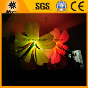 Color Changing Inflatable LED Lighting Flowers for Sale