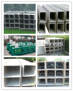Tianyi Adjustable Molding Core Fireproof Cement Pipe Flue Making Machine pictures & photos