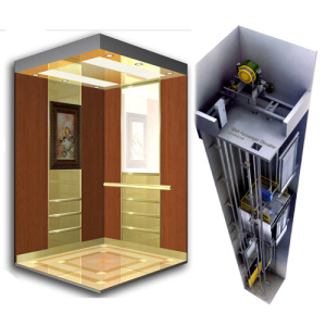 High Quality and Safe Vertical Passenger Elevator pictures & photos