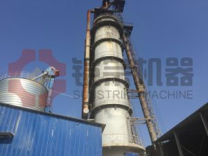 Sunstrike 2017 Automatic Siemens Control Vertical Shaft Quick Lime Kiln