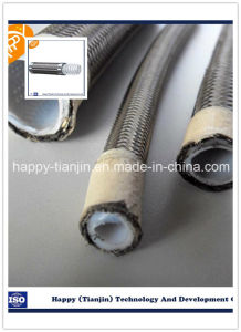 SAE 100 R14 Teflon Stainless Steel Hose pictures & photos