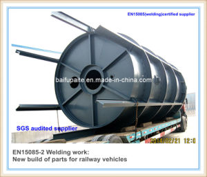 Steel Fabrication Work Radiant Furnace Chamber