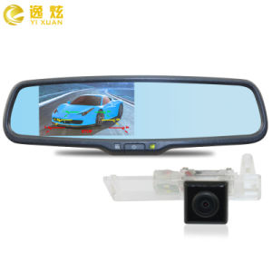 4.3 Inch 1080P Car Rearview Mirror 2 Camera DVR