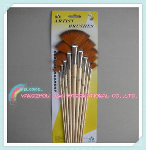 Fine Synthetic Hair Long Handle Art Watorcolor Brushes