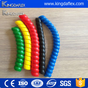 Hot Sale Plastic Spiral Corner Edge Protection Guard for Hydraulic Rubber Hose pictures & photos