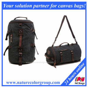 2017 Multifuntion Fashion Canvas Backpack (SBB-024) pictures & photos