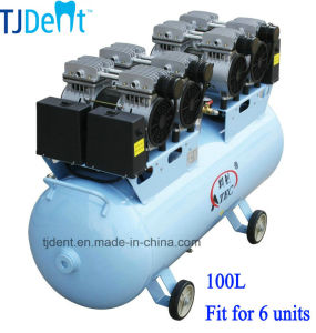 100L Volume Ce Approved Dental Air Compressor (TJ-240/100) pictures & photos