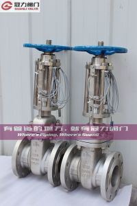 316L Stainless Steel Metal Seated Gate Valve with Signal pictures & photos