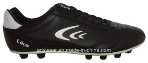 Kangaroo Leather Soccer Football Boots for Men′s Shoes (815-6513) pictures & photos