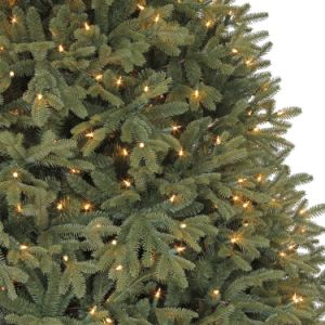 9 ft stamford pine quickset artificial christmas tree with clear lights my10007900