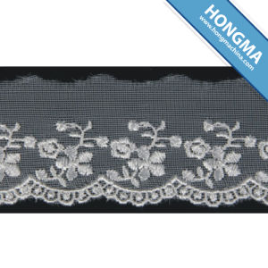 Good Quality Mesh Elegant Organza Lace (1607-0002)