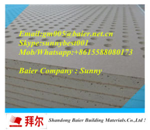 Perforated Plaster Board 12mm for Partition Wall pictures & photos
