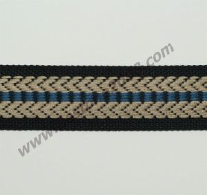 High Quality Jacquard Webbing for Bag and Garment#1501-19c pictures & photos