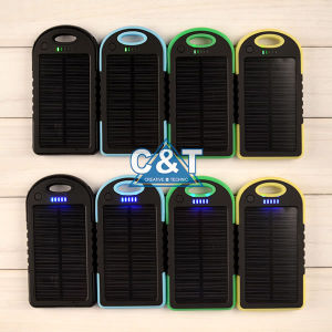 5000mAh Solar Battery Portable Charger Backup Battery Power Bank pictures & photos