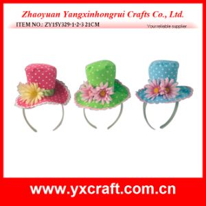 Easter Decoration (ZY15Y329-1-2-3) Festival Holiday Party Dress Hat Decoration Headband pictures & photos
