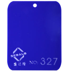 100% Virgin Lucite Blue Cast Acrylic Sheet (SDL-327) pictures & photos
