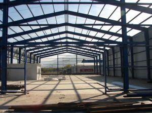 Steel Structure Warehouse for Processing Industry SL-0086 pictures & photos