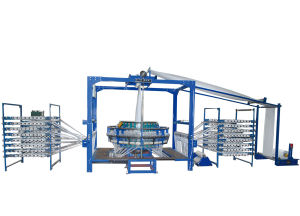 Four Shuttle Circular Loom for PP Woven Fabric with Liner (YF-BT/BC-750/4N) pictures & photos