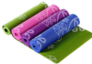 Custom Printing Eco Friendly PVC Foam Yoga Pilate Mat pictures & photos