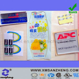 Clear Epoxy Resin Oil Resistant Colorful Unique Name Self Adhesive Labels pictures & photos