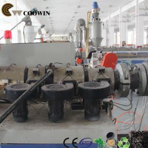 WPC Decorative Board Production Line PVC Wood Plastic Co - Extrusion Machine pictures & photos